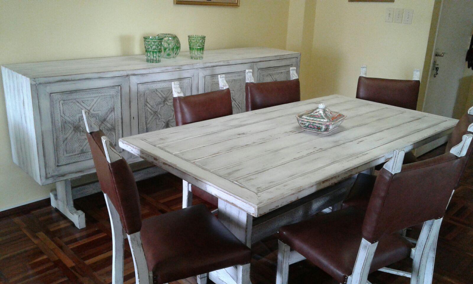 Patinas Y La Mar En Coche Galer A # Muebles Patinados En Blanco
